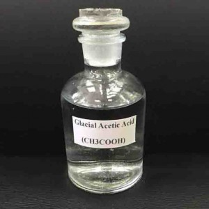 GLACIAL ACETIC ACID COLORLESS LIQUID